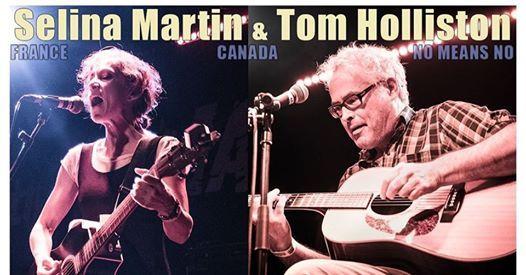 Thurs 28th NOV Tom Holliston and The Selina Martin Band
