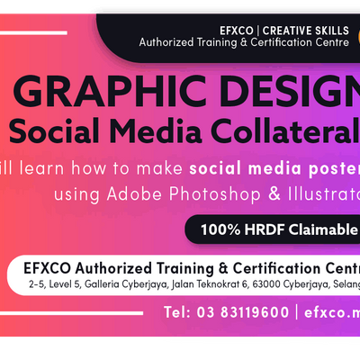 AUTHORISED TRAINING GRAPHIC DESIGN &quotCreating Social Media Collaterals""
