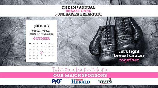 The 2019 Annual Breast Care Fundraiser Breakfast