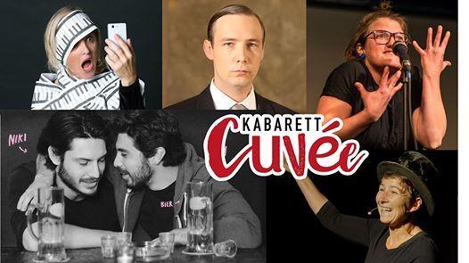 Kabarett Cuve goes Klagenfurt im November 2019