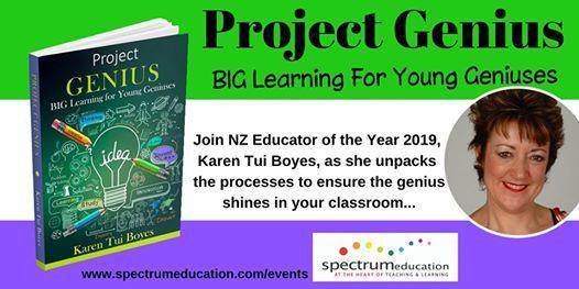 Project Genius Workshop with Karen Tui Boyes - Wellington