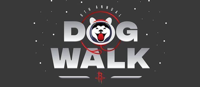 Houston Rockets Dog Walk presented by Titos Handmade Vodka