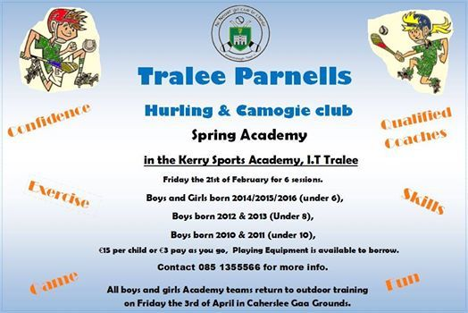 Parnells 6 Week Spring Academy
