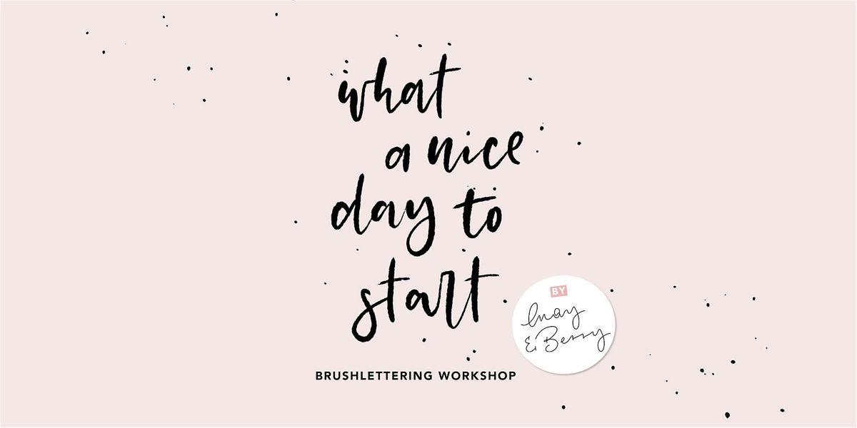 Basic Brushlettering Workshop 23. April 2020