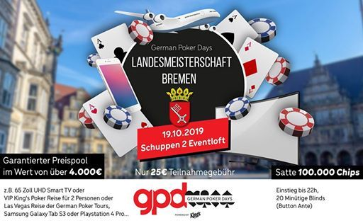 german poker days landesmeisterschaft bremen 2019 at schuppen 2 eventloft bremerhaven. Black Bedroom Furniture Sets. Home Design Ideas