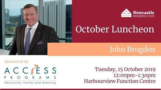October Luncheon - John Brogden