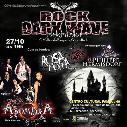 AsombrA no Rock Dark Wave