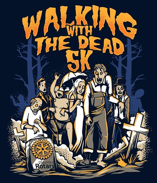 Walking With The Dead 5K & Monster Mash Bash