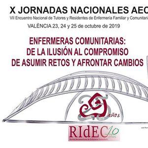 X Jornadas Nacionales de la Asociacin de Enfermera Comunitaria