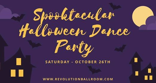 Spooktacular Halloween Dance Party - October 26th