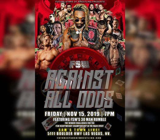 Future Stars of Wrestlings Against All Odds Ft. 30 Man Rumble