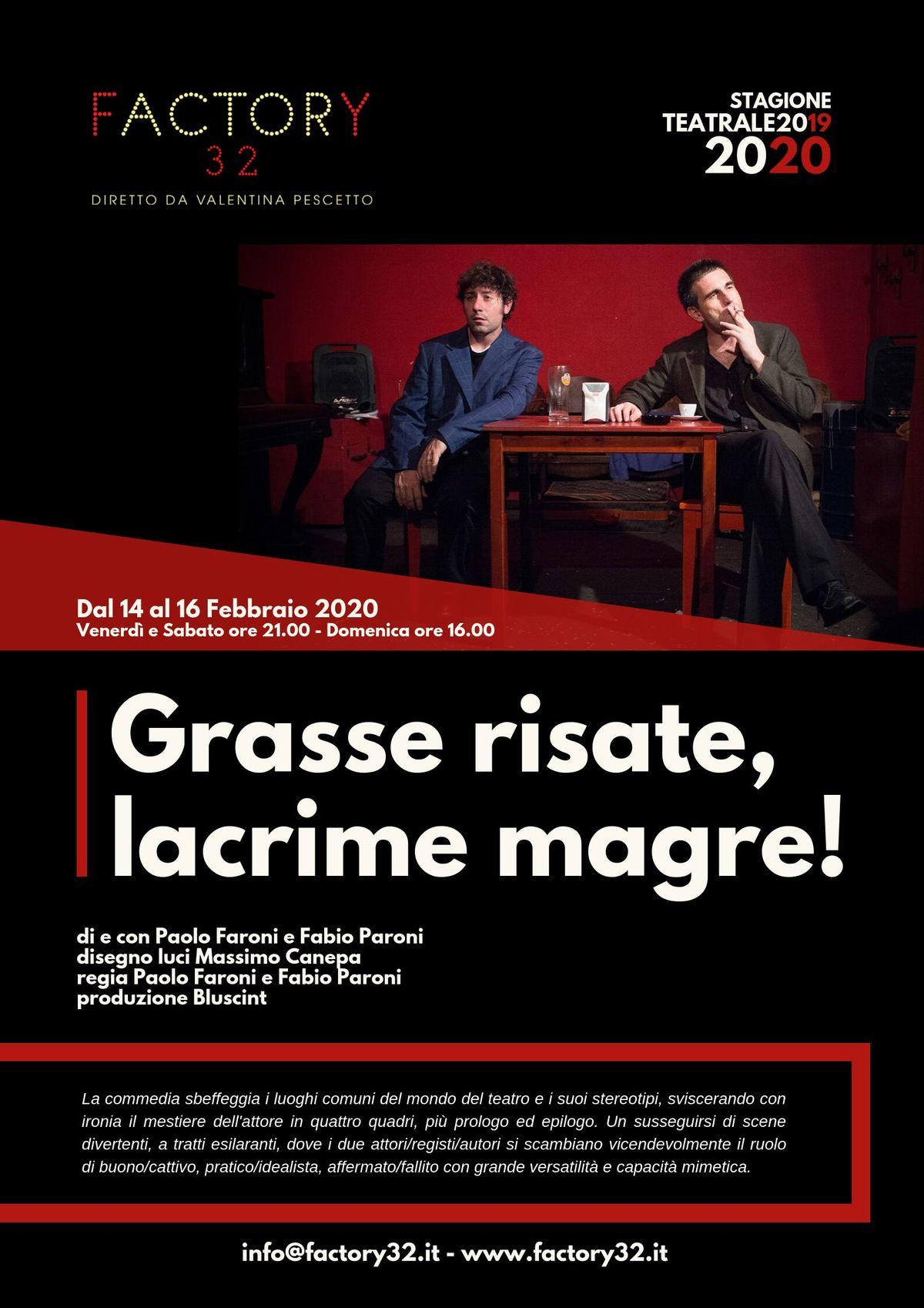 Immagini Dal Mondo Divertenti grasse risate, lacrime magre! @factory32 at factory32, milano