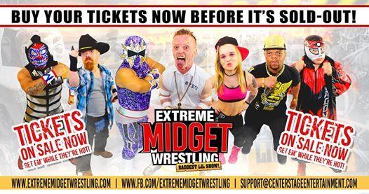 Extreme Midget Wrestling 2 in Warner Robins GA at AQUA Lounge