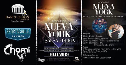 Noche de Nueva York - Salsa Edition I will be there