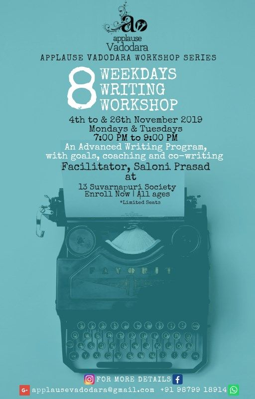 8 Weekdays Writing Workshop