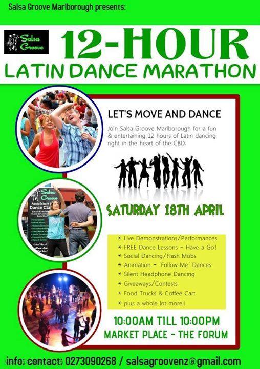 12-Hour Latin Dance Marathon - Lets Dance