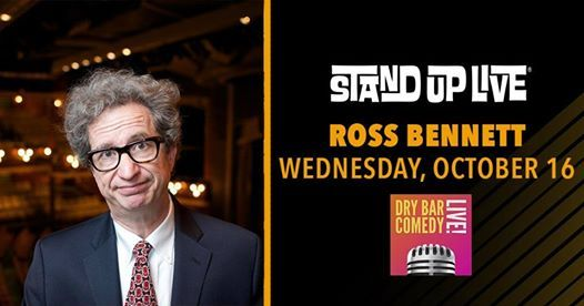 Ross Bennett at Stand Up Live