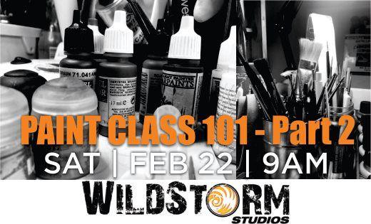 Wildstorm Paint Class 101 - Part 2