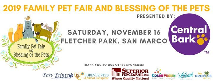2019 Family Pet Fair & Blessing of the Pets