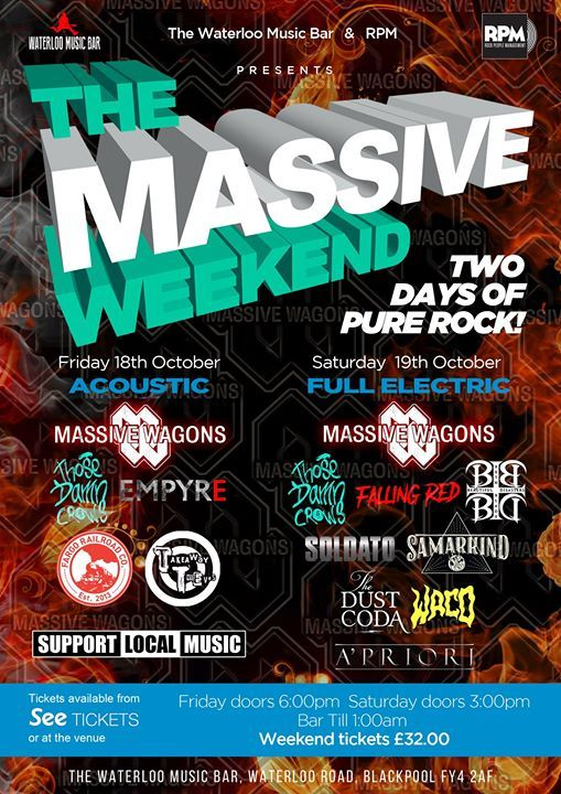 The Massive Weekend SOLD OUT