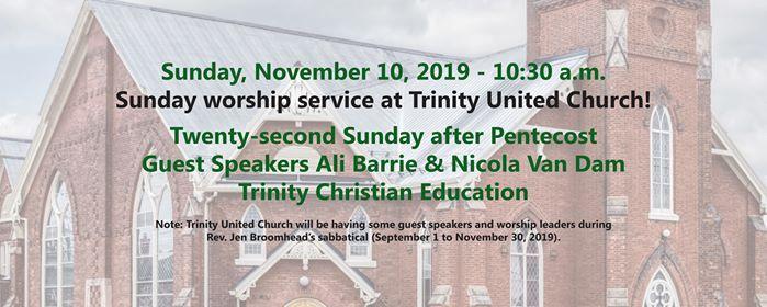 Sunday Worship - Twenty-second after Pentecost
