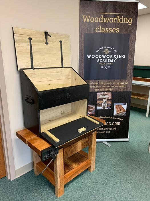 Dutch Tool Chest Class At Sound Foundation Woodworking