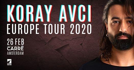 Koray Avc - European Tour 2020  Amsterdam