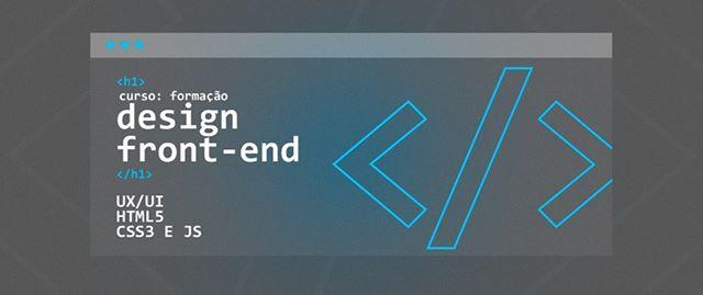 Curso Formao em Design FrontEnd UXUI HTML5 CSS3 em Recife