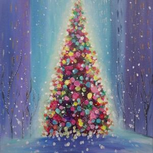 Paint Nite - Christmas in the City