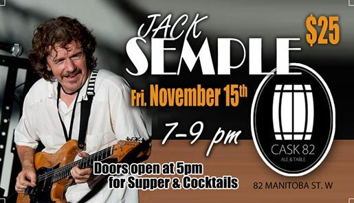 Jack Semple LIVE at Cask 82