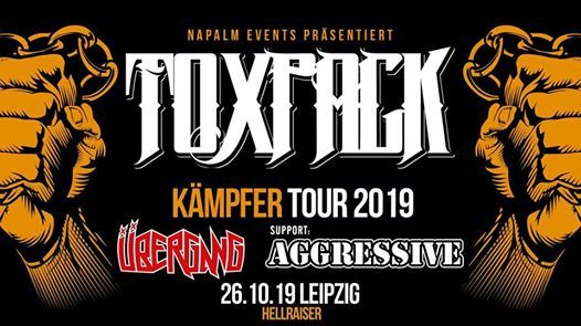 Toxpack - Kmpfer Tour 2019 (at) Hellraiser  26 10 2019