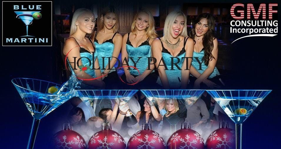 The GMF Holiday Party  Blue Martini