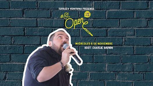El Open Con Charlie Munin At Terraza Veintiuna Zapopan