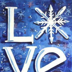 Paint Nite - Snow Love II