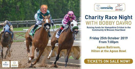 Charity Race Night with Bobby Davro