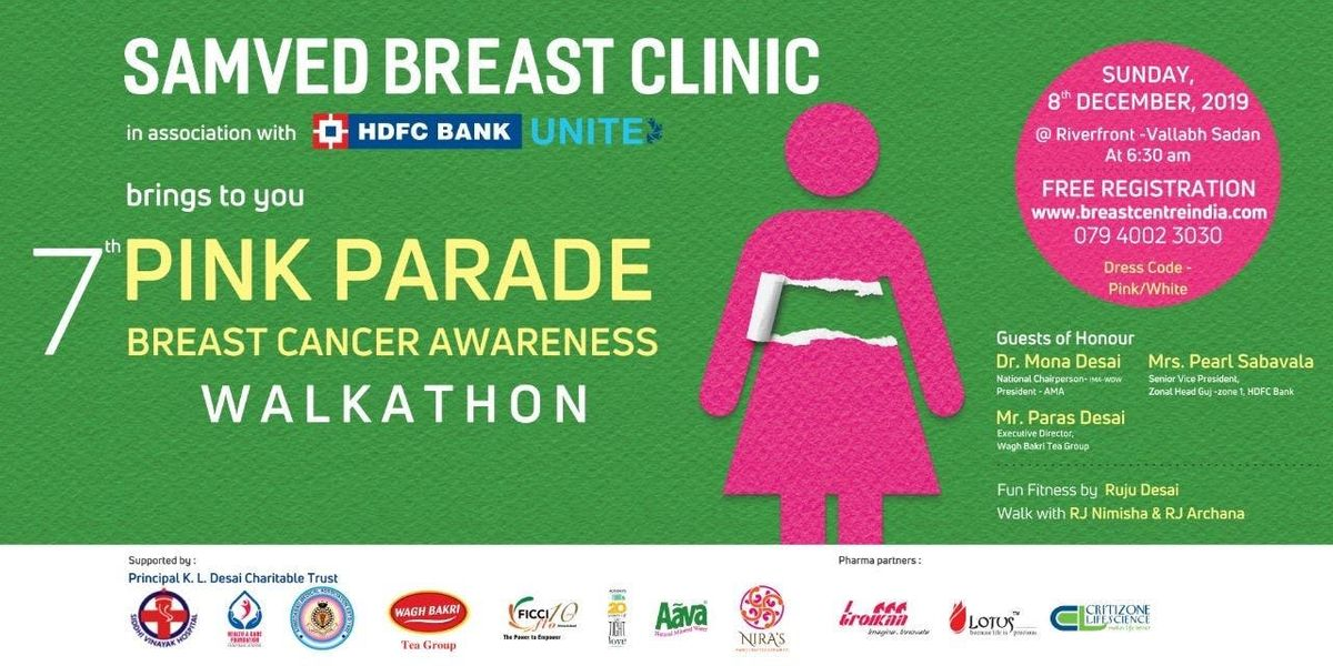 7th PINK PARADE-SAMVED BREAST CANCER AWARENESS WALKATHON