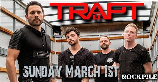 TRAPT at Rockpile - March 1