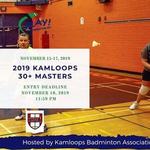 2019 Kamloops 30 Masters Tournament