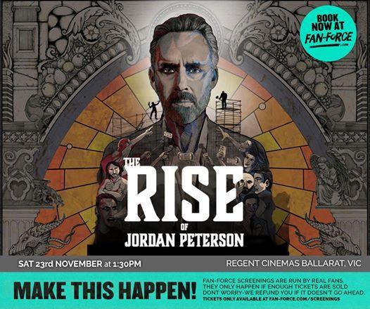 The Rise of Jordan Peterson - Regent Cinemas Ballarat VIC