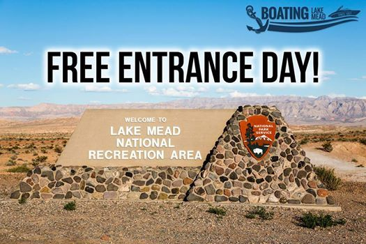Free Park Entry Day at Lake Mead