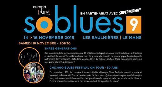 9e Soblues - 16.Nov Three Generations  Chicago Blues Festival