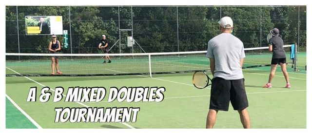 A & B Mixed Doubles Tournament