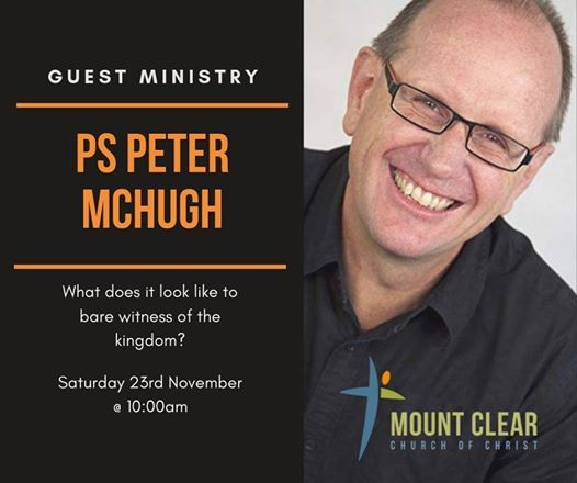 A Day with Peter McHugh