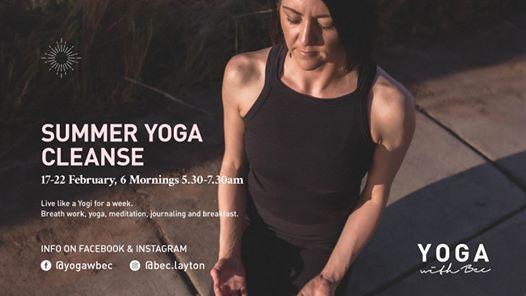 Summer Yoga Cleanse - Live like a yogi for a week