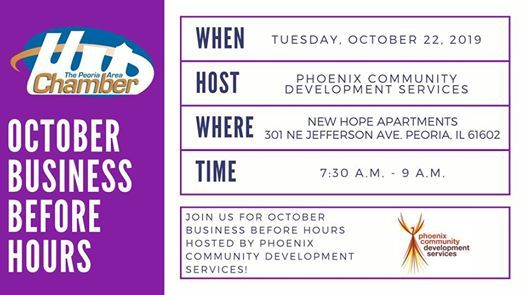 October Business Before Hours -Phoenix Community Development Srv
