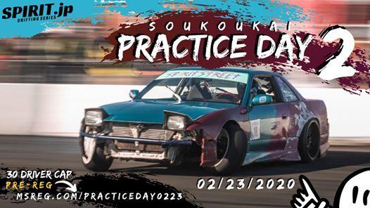 Soukoukai Practice Drift Event 2 of 2020 - 022319