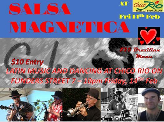 Salsa Magnetica on Valentines Day