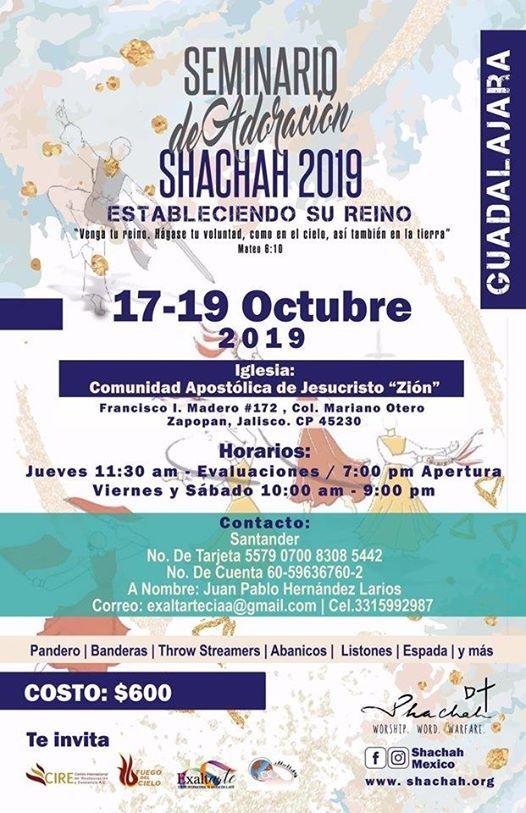 Seminario Shachah en Guadalajara Jalisco - Mxico.