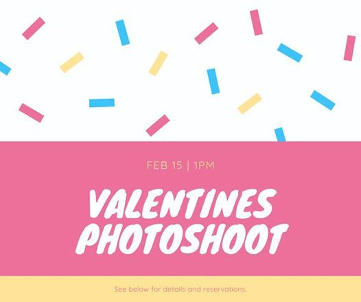 Valentine Day Mini Sessions