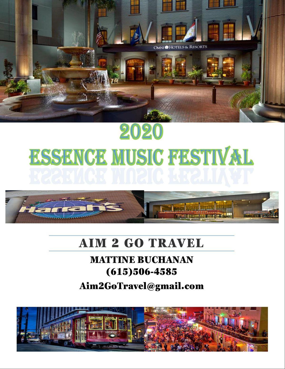 Essence Music Festival 2020.Essence Music Festival 2020